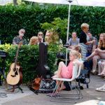 Muziek in de tuin